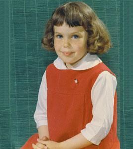 Cathy at 5